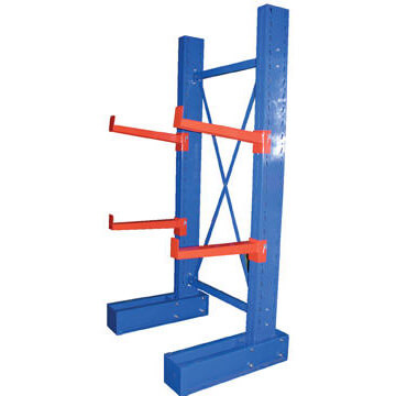 Single sided upright cantilever