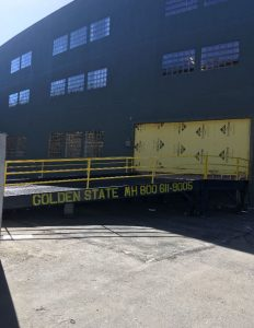 Golden State Material Handling yard ramp