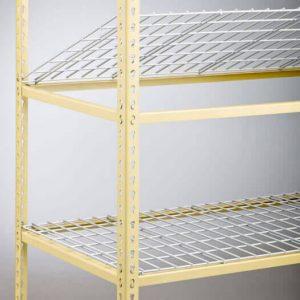 Kwik-Shelf light duty shelving for warehouse racks sold in the SF Bay Area