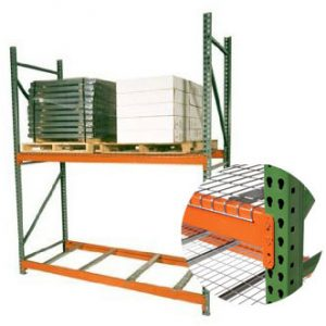 Pallet racking sold by Golden State Material Handling in Hayward and throughout SF Bay Area