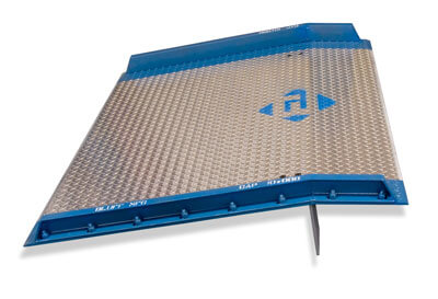 Dockboard Aluminum AC Design yard ramp sold in the San Francisco Bay Area