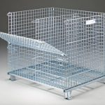 Wire container with divider sold in Hayward, CA