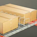 Carton stop rack accessory sold by Golden State Material Handling
