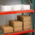 Divider combo for warehouse racks and storage racks sold in the SF Bay Area