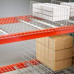 Hanging divider for racking and racks in warehouse - Golden State Material Handling