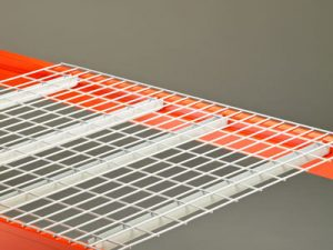 Flat wire decking for racks sold by Golden State Material Handling