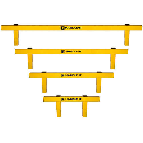 Handle It Guard Rails - Build a Rail single rail sold by Golden State Material Handling