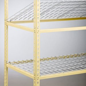 Drop in Kwik-Shelf easy install on racks and shelving, sold by Golden State Material Handling in the SF Bay Area
