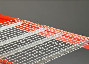 Wire decking for racks in warehouse - Golden State Material Handling