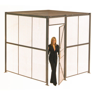 Wire partition system - WireCrafters sold by Golden State Material Handling