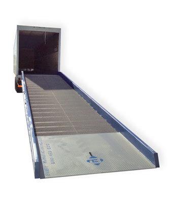 Yard ramp on truck - Golden State Material Handling