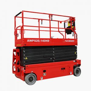 Aerial working platform or lift AWPS-HD lowered - Golden State Material Handling in the SF Bay Area