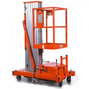 Aerial lift or working platform aluminum AWP series - Golden State Material Handling in Hayward, CA