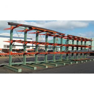 Double sided upright cantilever