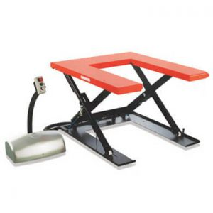 Static Electric Table Lift HTF-U - Golden State Material Handling in the San Francisco Bay Area