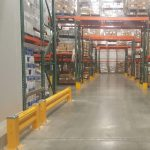 Handle it guard rails heavy duty inside warehouse rack protection in San Francisco Bay Area