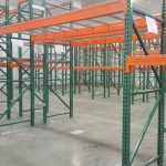Warehouse full of pallet racking - Golden State Material Handling in the SF Bay Area