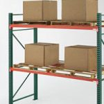 Pallets with boxes on pallet racking - Golden State Material Handling in the San Francisco Bay Area