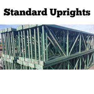 standard uprights pallet racks