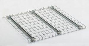 Flared wire deck single shelf