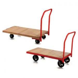 Wood platform steel truck - Golden State Material Handling in the San Francisco Bay Area