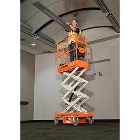 Push-Around Mini Scissor Lifts San Francisco Bay Area sold by Golden State Material Handling