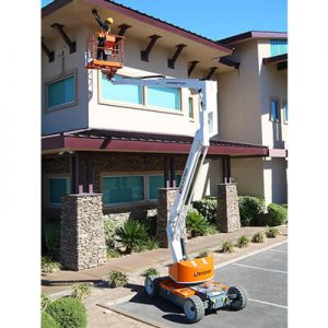 Electric boom lifts in the San Francisco Bay Area sold by Golden State Material Handling