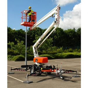 Snorkel TL34 Portable & Towable Boom Lifts sold by Golden State Material Handling in the San Francisco Bay Area