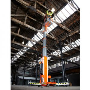 Snorkel UL Series personnel lifts and single man lifts, sold by Golden State Material Handling in the San Francisco Bay Area