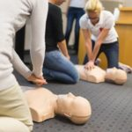 CPR, First Aid, and AED on-site on location training in the Bay Area