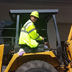 Backhoe skid steer operator training