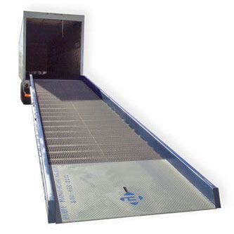 ramps for warehouses and truck loading