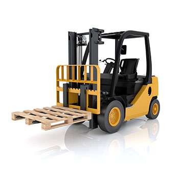 Aerial lift or working platform AWPS-HD, raised - Golden State Material Handling in the Bay Area